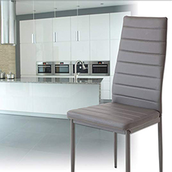 albatros verona sillas de comedor modernas tapizadas en cuero