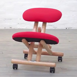 cinius silla ergonomica postura correcta detalle vista de cerca