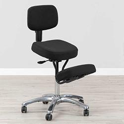 silla ergonomica con respaldo tapizada en tela jobri kneeling