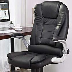 silla ordenador oficina songmics obg51 estudio acolchado sillon