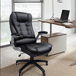 songmics obg51 silla para ordenador acolchada