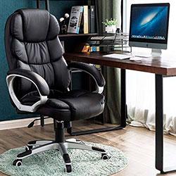 Songmics OBG24B silla escritorio y oficina