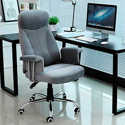 Songmics OBG41G silla tela oficina