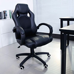 Songmics OBG56B silla gaming oficina