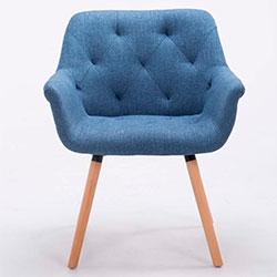 CLP Cassidy silla de tela para comedor