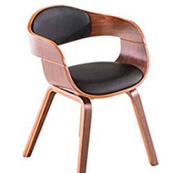 CLP Kingston silla comedor madera elegante