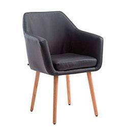 clp utrecth silla elegante de comedor sala de espera