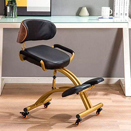 bherx pro silla ergonomica con respaldo en cuero
