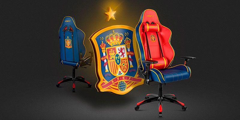 Drift Real federacion de futbol espanola silla gaming edicion limitada