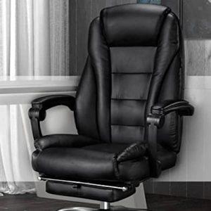 hbada hdny166 silla oficina acolchada cuero