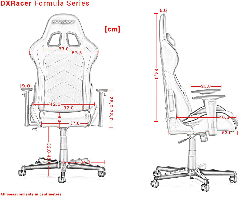 Vista detalle DXRacer Formula F08 imagen 4