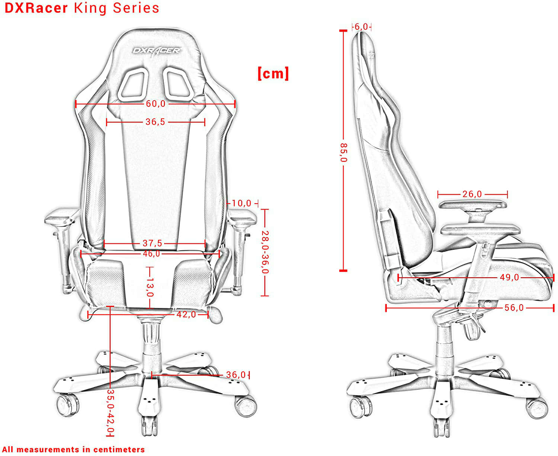Vista detalle DXRacer King K06 imagen 4