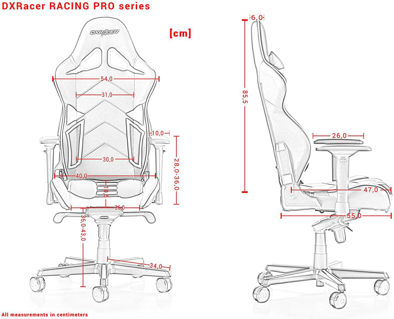Vista detalle DXRacer Racing Pro R131 imagen 4