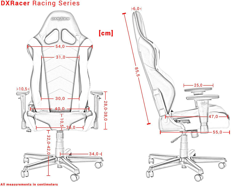 Vista detalle DXRacer Racing RZ0 imagen 4
