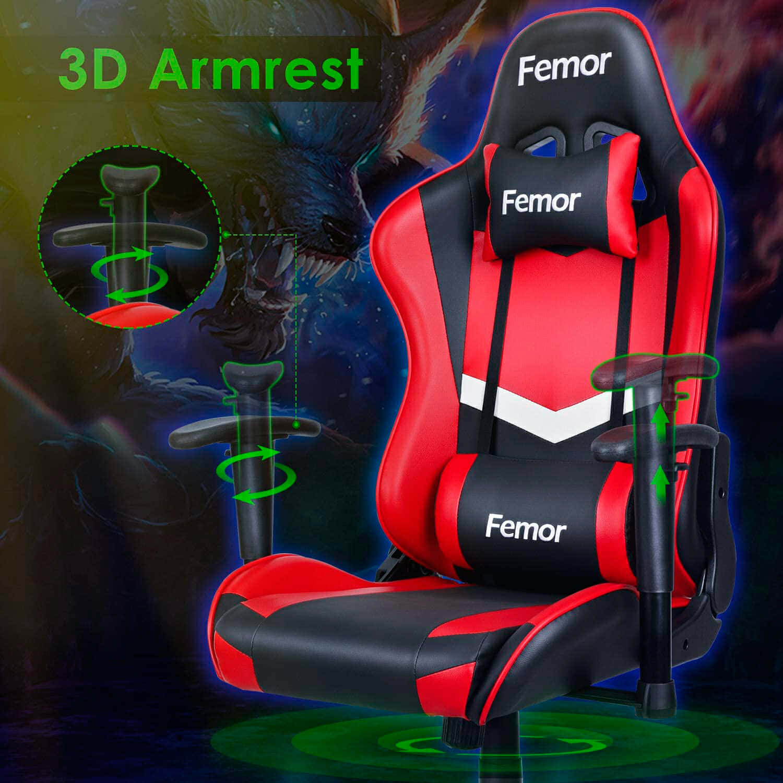 Vista detalle Femor Silla Gaming imagen 3