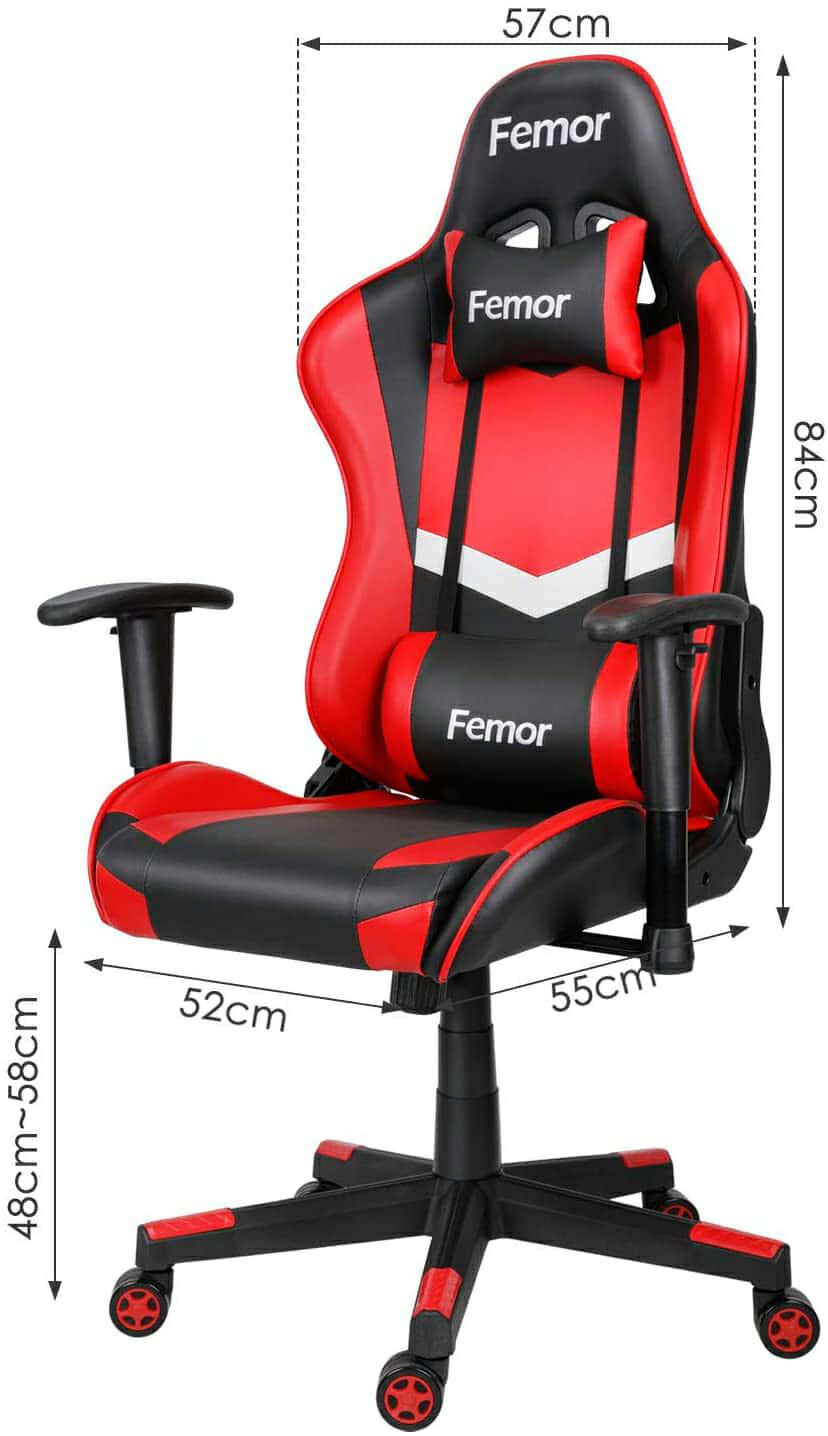 Vista detalle Femor Silla Gaming imagen 4
